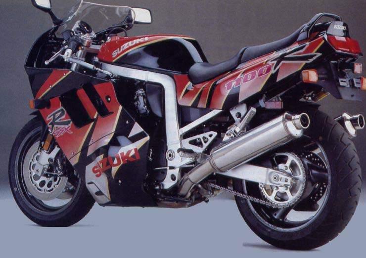 Suzuki GSX-R 1100M – Motorcycles